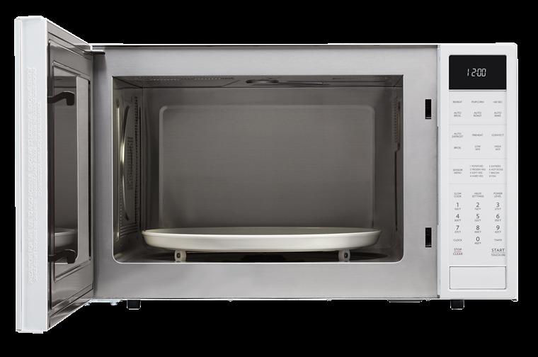 Model: SMC1585BW | Sharp Appliances 1.5 CU. FT. 900W SHARP WHITE CAROUSEL CONVECTION + MICROWAVE (SMC1585BW) WITH MATTE WHITE FINISH