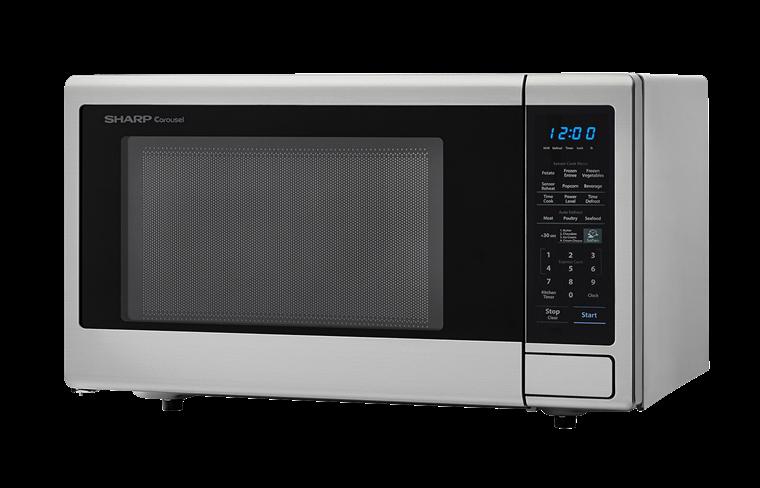 Model: SMC1842CS | Sharp Appliances SHARP  MICROWAVE 1.8 CU. FT. 1100W