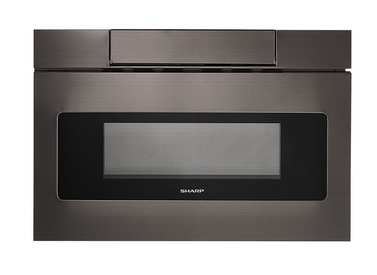 Sharp Appliances SHARP MICROWAVE DRAWER OVEN, 24 IN. 1.2 CU. FT. 1000W BLACK STAINLESS STEEL