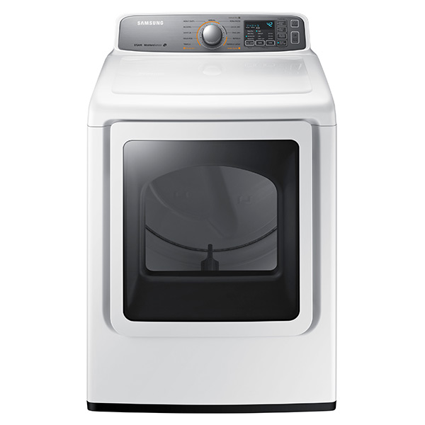 Samsung DV7400 7.4 cu. ft. Electric Front Load Dryer (White)