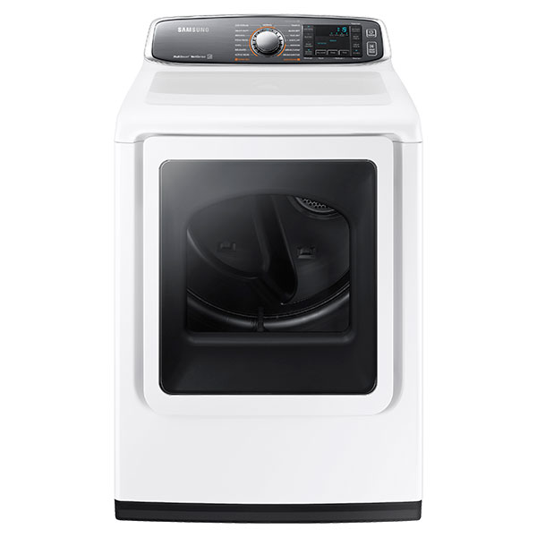 Samsung DV8700 7.4 cu. ft. Large Capacity (Electric) Front Load Dryer (White)