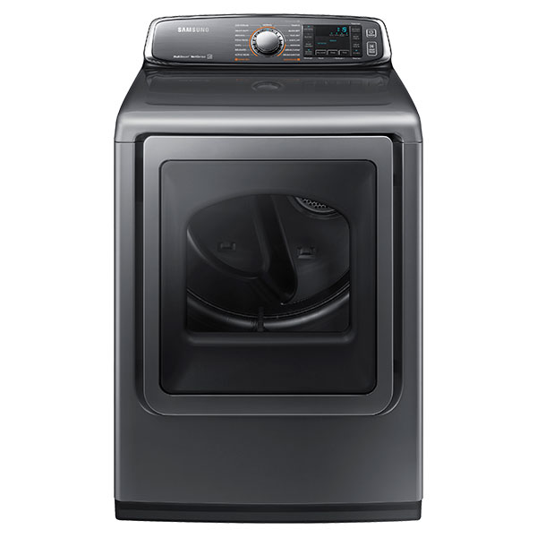 DV8700 7.4 cu. ft. Large Capacity (Gas) Front Load Dryer (Platinum)
