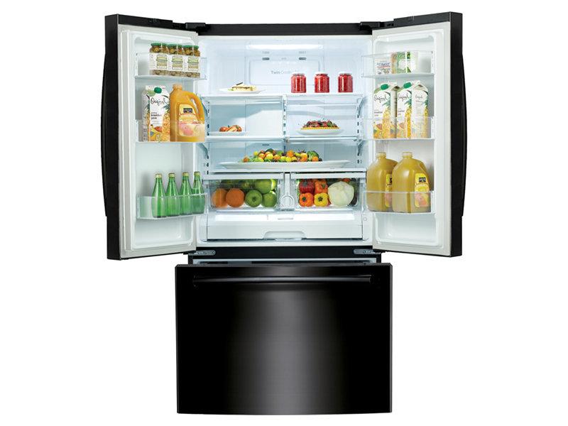 Samsung Rf261beaebc 26 Cu Ft French Door Refrigerator With