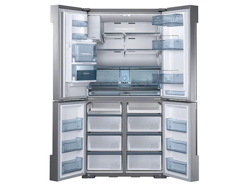 34 cu. ft. 4-Door Flex™ Chef Collection Refrigerator, with Sparkling Water Dispenser