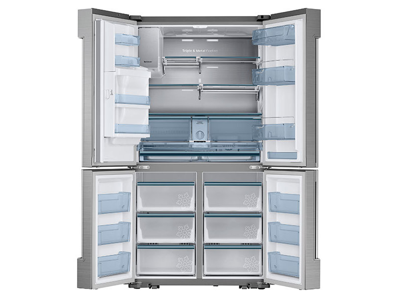 24 cu. ft. Counter Depth 4-Door Flex™ Chef Collection Refrigerator