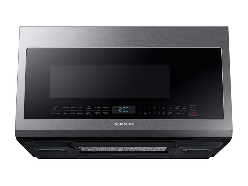 Model: ME21M706BAS   Samsung 2.1 cu. ft. Over The Range Microwave