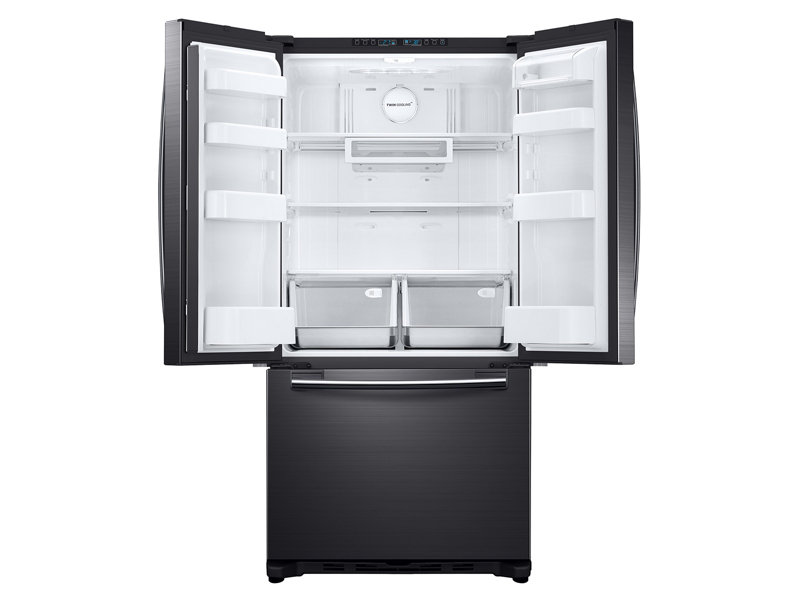 Model: RF18HFENBSG | Samsung 18 cu. ft. Counter Depth French Door Refrigerator