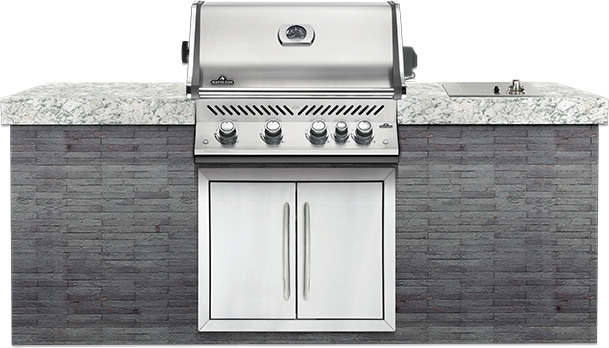 Built-In Prestige PRO™ 500 RB  Stainless Steel