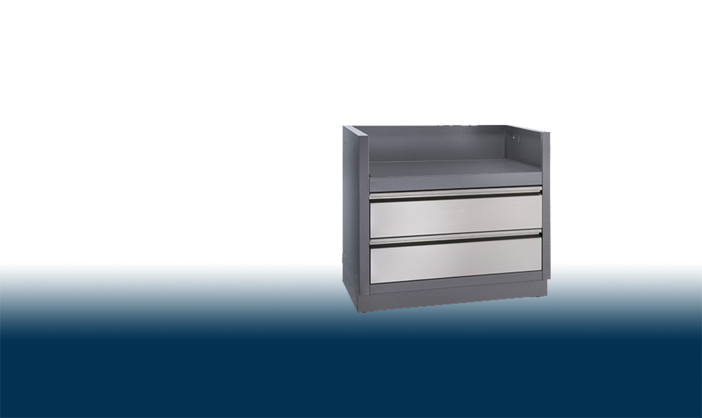 Model: IM-UGC665-CN | Napoleon OASIS™ Under Grill Cabinet for Built-In Prestige PRO™ PRO665 Grill Head