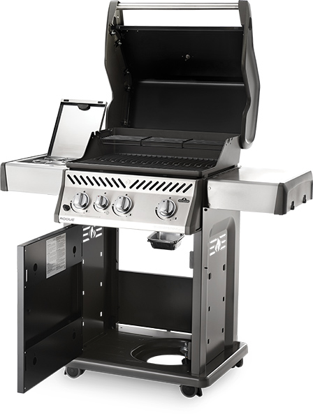 Rogue® 425 Gas Grill with Side Burner - Natural Gas