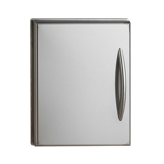 Flat Stainless Steel Door Set