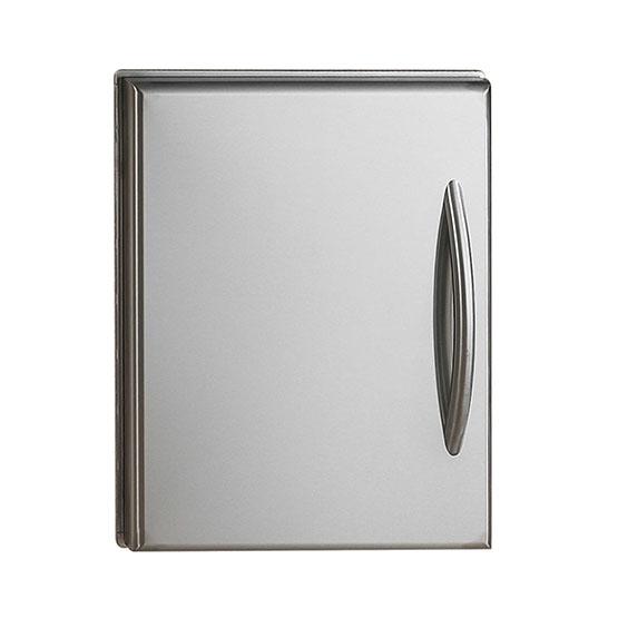 Flat Stainless Steel Door Set