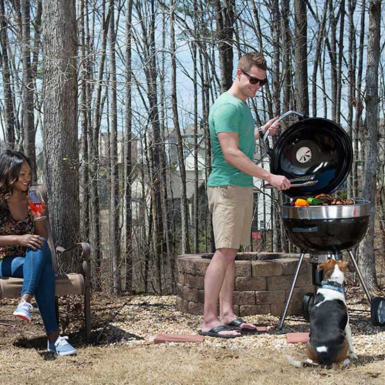 RODEO PRO CHARCOAL KETTLE GRILL