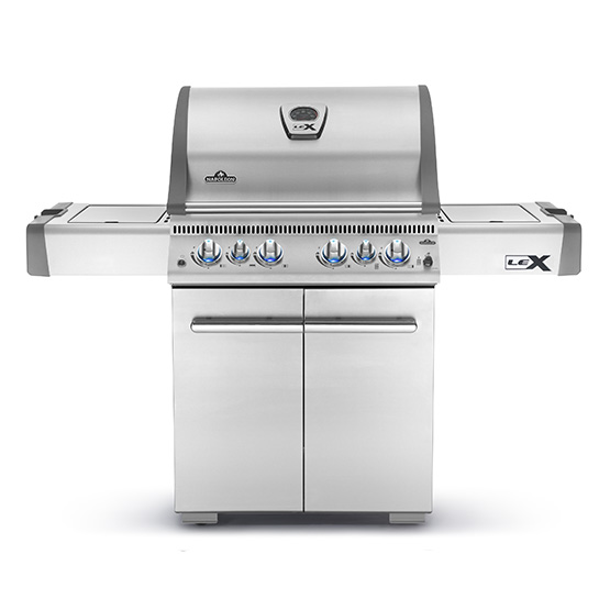 LEX 485 RSIB Gas Grill with infrared Side & Rear Burners - Natural Gas