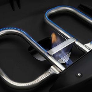 Model: TQ285X-BL-1   Napoleon TravelQ™ 285 X  Gas Grill with Scissor Cart - LP Gas