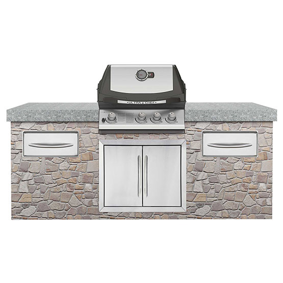 BUILT-IN ULTRA CHEF 405 WITH REAR BURNER