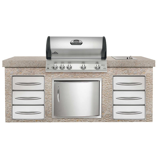 BUILT-IN MIRAGE 605-2 WITH INFRARED BURNERS