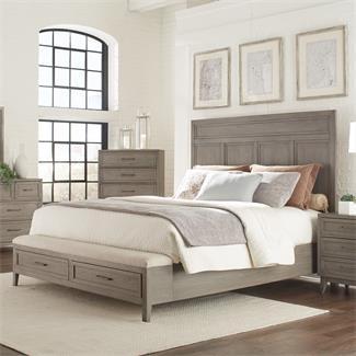 Superb Riverside 46182 S Vogue Panel Bed With Storage Bench Ibusinesslaw Wood Chair Design Ideas Ibusinesslaworg
