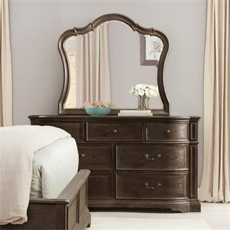 Verona Seven Drawer Dresser and Mirror- Seven Drawer Dresser