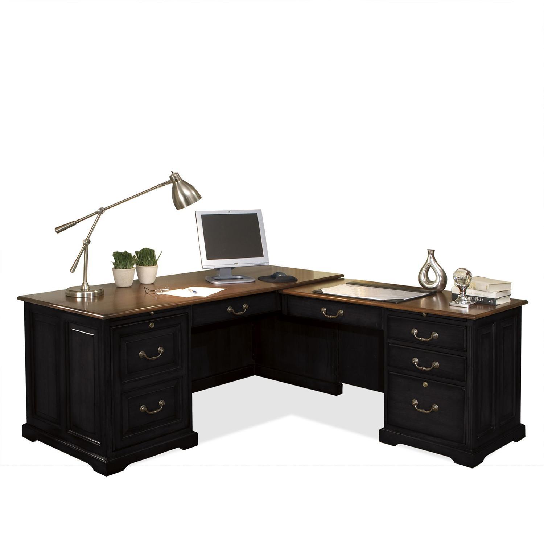 L Computer Workstation
