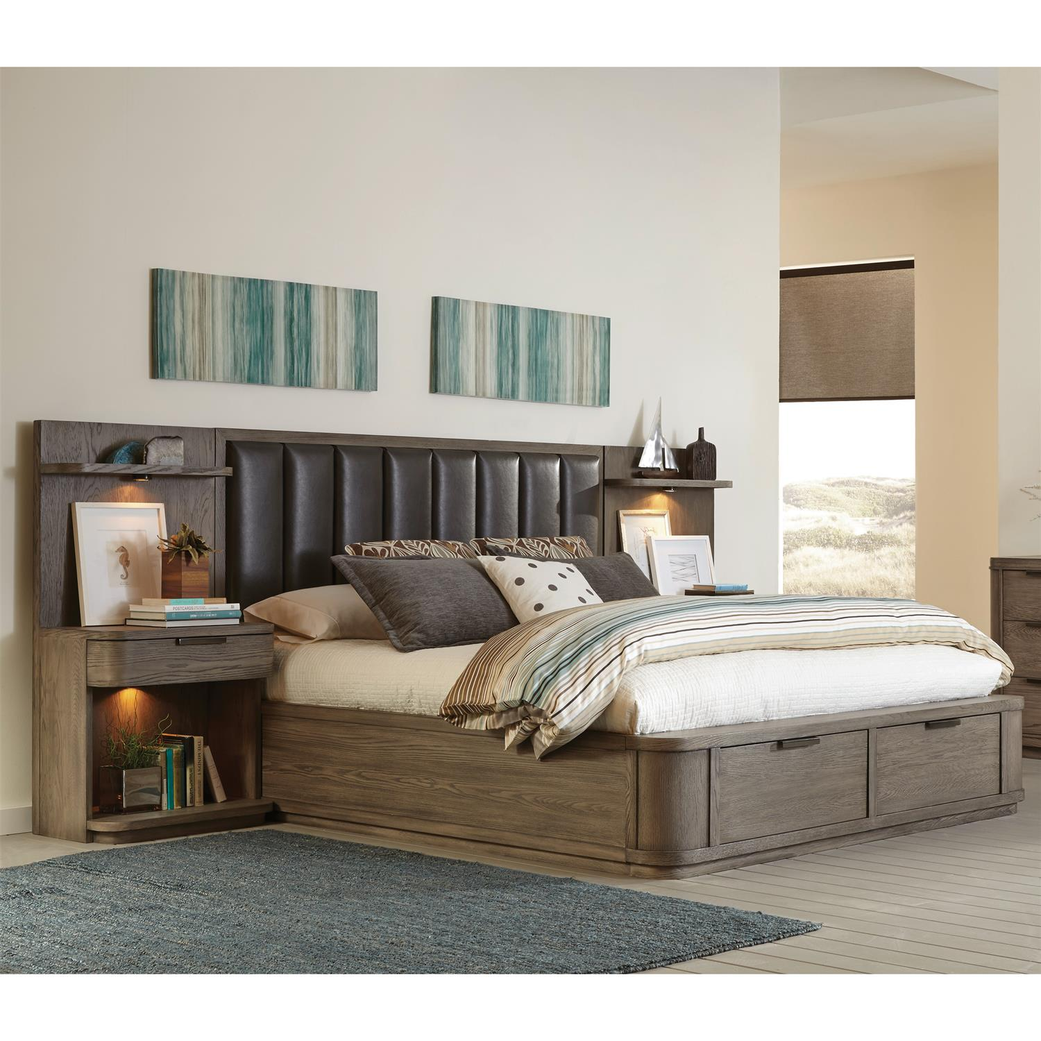King/California King Low Upholstered Headboard