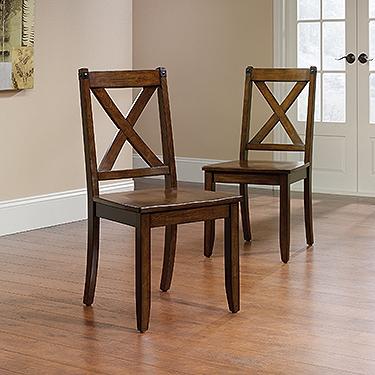 Sauder X-Back Chair (set of 2)