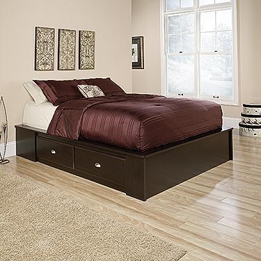 Sauder Queen Platform Bed