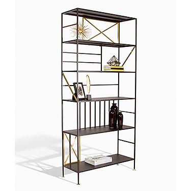Sauder New Prairie Vertical Bookcase