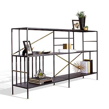 Sauder New Prairie Horizontal Bookcase