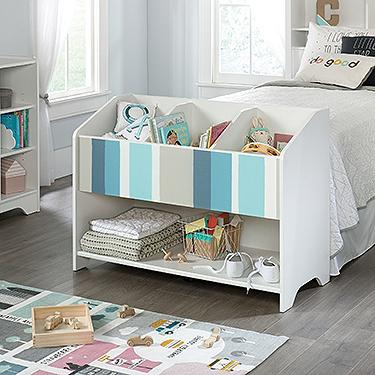 Model: 421889 | Sauder Bookcase/Footboard
