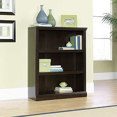 Sauder 3-Shelf Bookcase