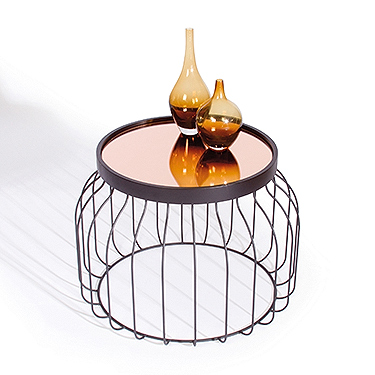 Sauder Bird Cage Table