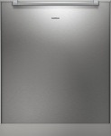 Gaggenau  Stainless steel-backed full glass door panel for tall tub dishwashers, handle included