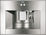 Fully automatic coffee machine stainless steel front Width 24