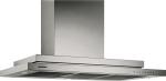 Wall-mounted hood Stainless Steel Width 36
