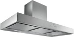 Wall-mounted hood Stainless steel Width 48