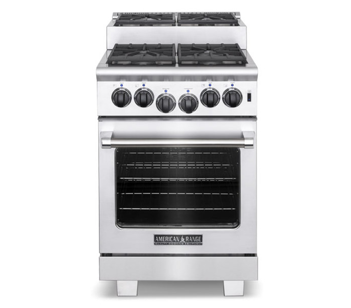 "Model: ARR-244IS | American Range 24"" TITAN STEP-UP GAS RANGE"