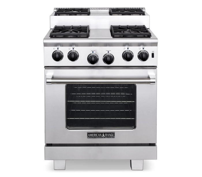 "American Range 30"" TITAN STEP-UP GAS RANGE"