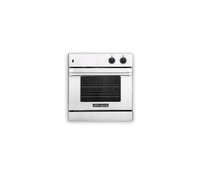 "American Range 30"" LEGACY CHEF DOOR SINGLE DECK WALL OVEN - GAS"