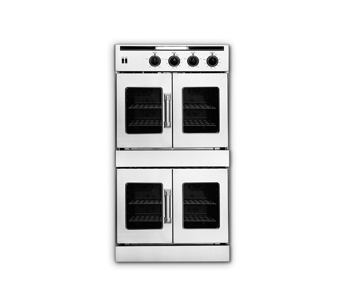 "American Range 30"" LEGACY HYBRID FRENCH DOOR DOUBLE DECK WALL OVEN - GAS ON TOP / ELECTRIC ON BOTTOM"