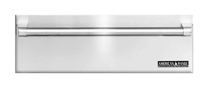 "Model: ARR-30WD | American Range 30"" VILLA STAINLESS STEEL WARMING DRAWERS"