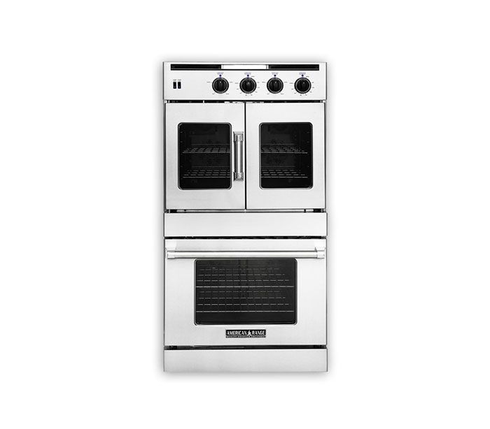 "Model: AROSSHGE-230 | American Range 30"" LEGACY HYBRID DOUBLE CHEF DOOR OVEN"