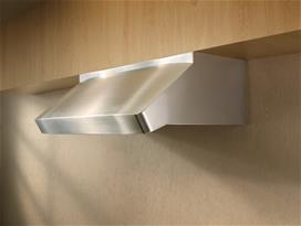 "Model: UP27M48SB | Best Centro Poco - 48"" Stainless Steel Pro-Style Range Hood with internal/external blower options"
