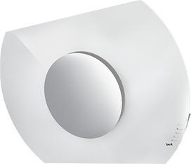 Sun - WC43I80W - White Glass