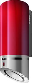 LIPSTICK - WM33I40R - Red with Brushed Stainless Steel