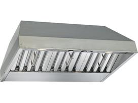 "Best 46-3/8"" Stainless Steel Built-In Range Hood with 1200 CFM Internal Blower"