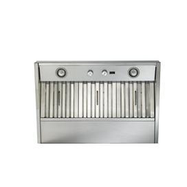 "Model: CP37I482SB | Best 46-3/8"" Stainless Steel Built-In Range Hood with 1200 CFM Internal Blower"