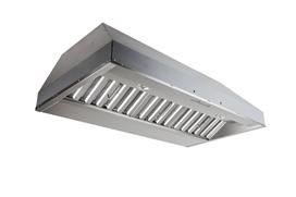 "Best 42"" Stainless Steel Built-In Range Hood with iQ6 -lower System 600 CFM"