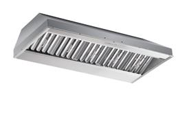 "Model: CP57E482SB | Best 48"" Stainless Steel Built-In Range Hood for use with External Blower Options"