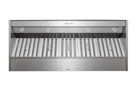"Best 60"" Stainless Steel Built-In Range Hood for use with External Blower Options"